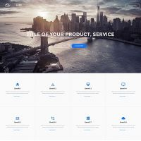 Buzz Landing Page Template